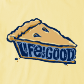 Women's Pie Is Good Crusher Tee