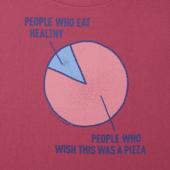 Women's Pizza Wish Long Sleeve Crusher Scoop