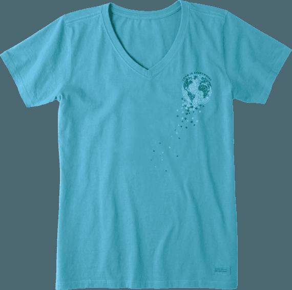 Women's Planet Wildflower Crusher Vee