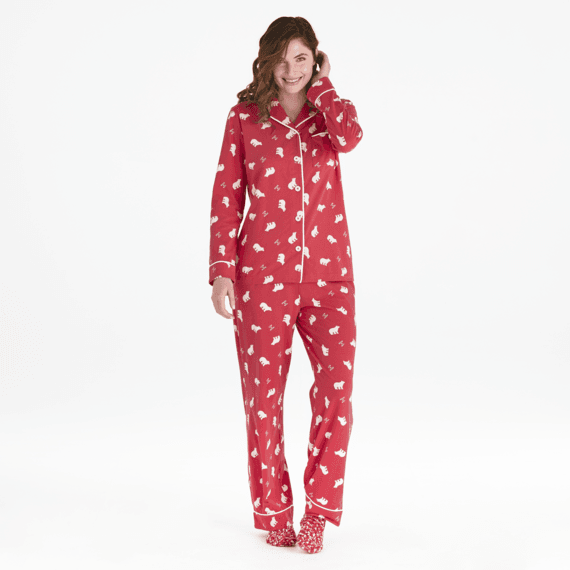 Women's Polar Bear LIG Sleep Set