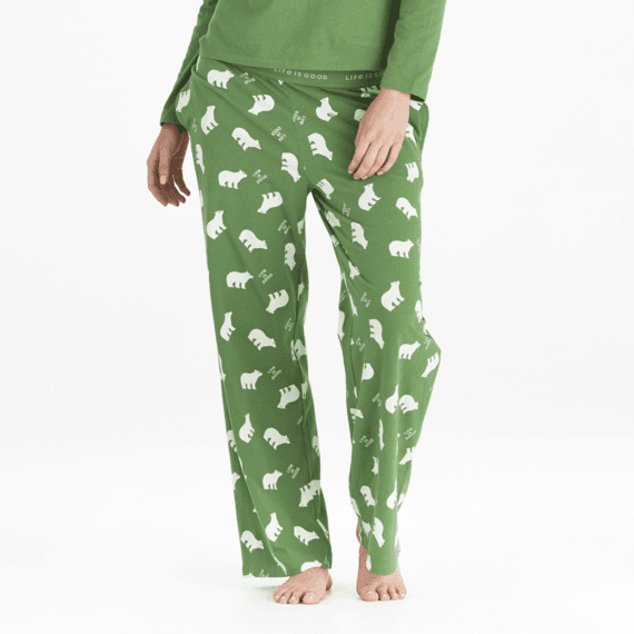 Women's Polar Bear LIG Snuggle Up Sleep Pant