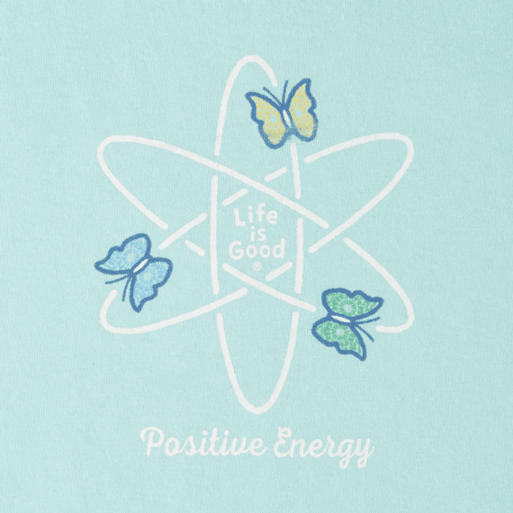 Women's Positive Energy Butterflies Crusher Scoop Tee