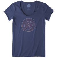 Women's Positive Energy Vibes Smooth Tee