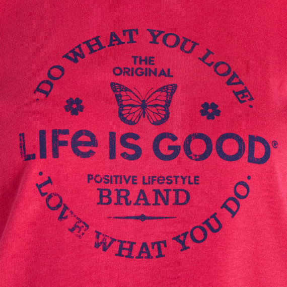 Women's Positive Lifestyle Butterfly Crusher Long Sleeve