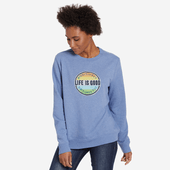 Women's Positive Patch Simply True Crew