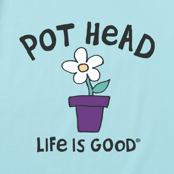 Women's Pot Head Flower Crusher Tee