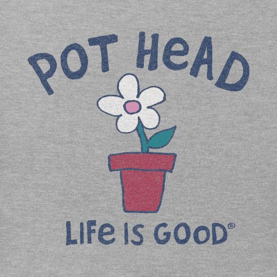 Women's Pot Head Flower Crusher Vee