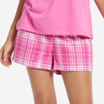 Women's Plaid Sleep Shorts