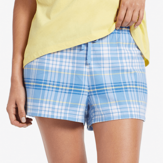 Women's Plaid Sleep Shorts