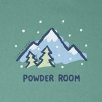 Women's Powder Room Long Sleeve Crusher Tee