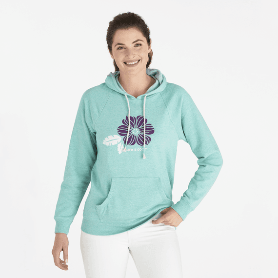 Women's Pretty Poppy Simply True Hoodie