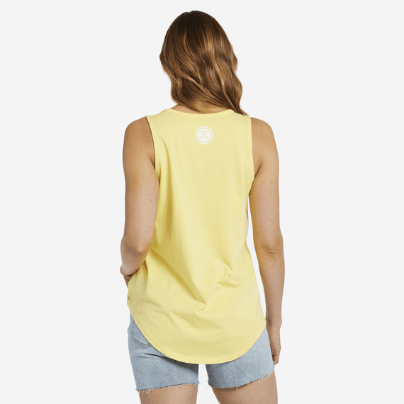Women's Primal Anchor High-Low Crusher Tank