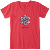 Women's Primal Flower Crusher Vee