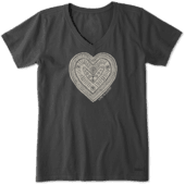 Women's Primal Heart Crusher Vee