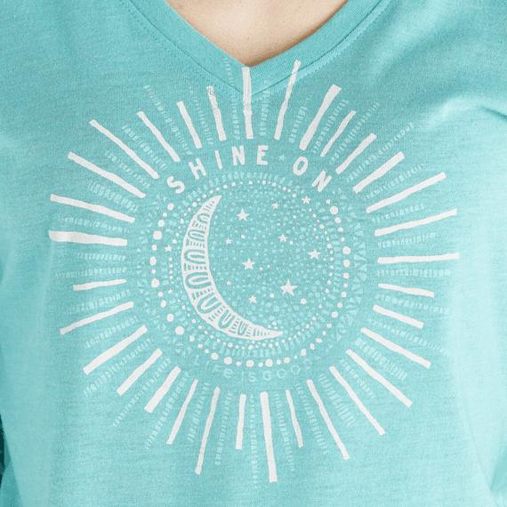 Women's Primal Sun Long Sleeve Cool Vee