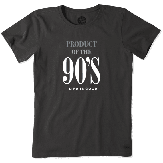 Women's Product of the 90's Crusher Tee