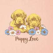 Women's Puppy Love Long Sleeve Crusher Tee