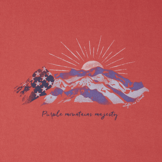 Women's Purple Mountains Majesty Crusher Tee
