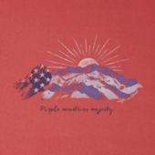 Women's Purple Mountains Majesty Crusher Tee