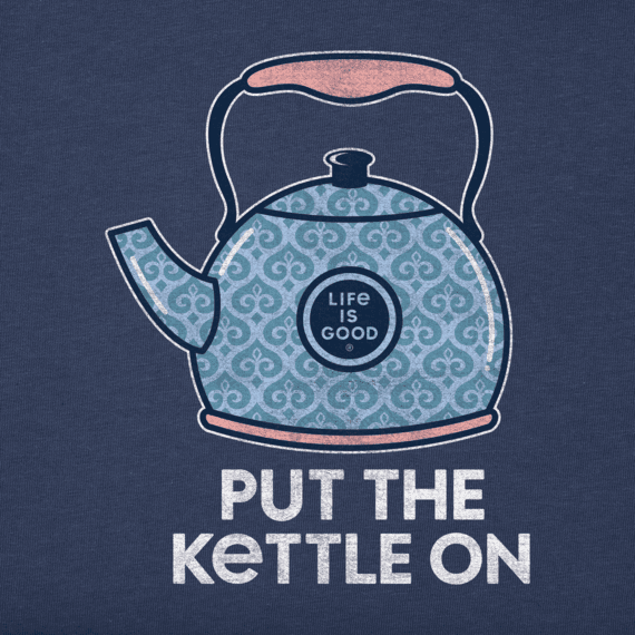 Women's Put the Kettle On Crusher Tee