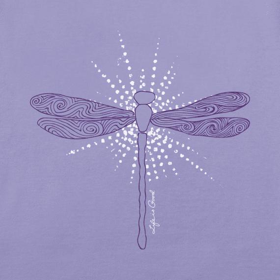 Women's Radiant Dragonfly Crusher Vee