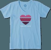 Women's Radiate Heart Crusher Vee