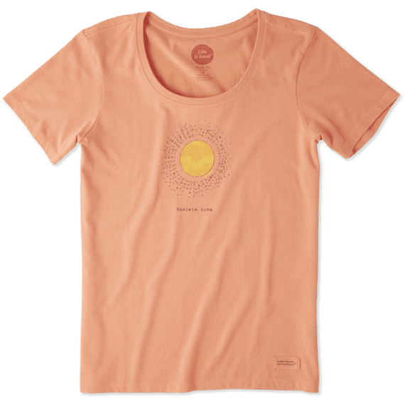 Women's Radiate Love Sun Crusher Scoop Tee