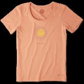 Women's Radiate Love Sun Crusher Scoop Tee