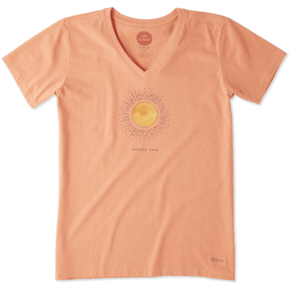 Women's Radiate Love Sun Crusher Vee