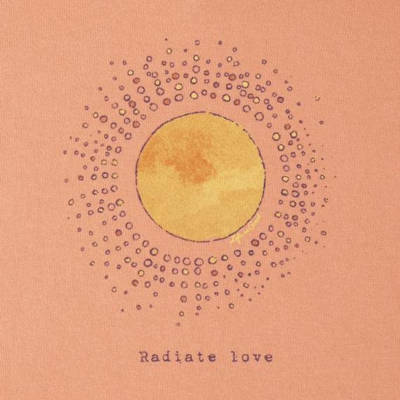 Women's Radiate Love Sun Crusher Vee