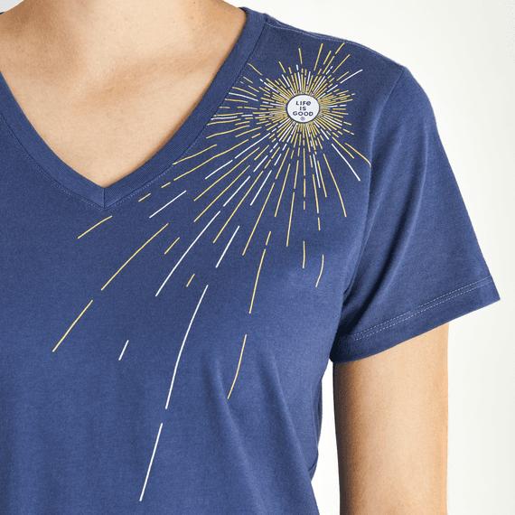 Women's Radiating Sun Crusher Vee