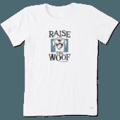 Women's Raise The Woof Crusher Tee