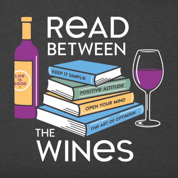 Women's Read Between the Wines Crusher Tee