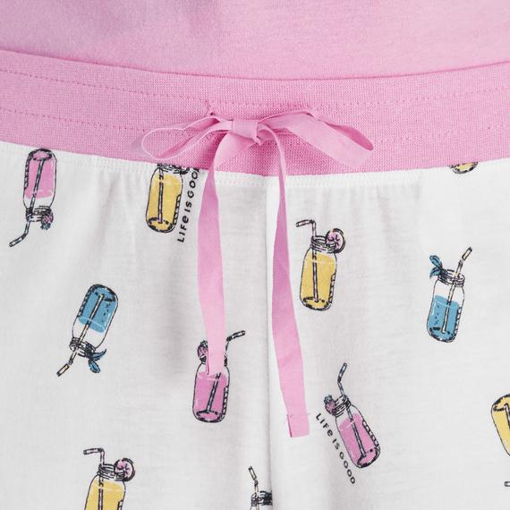 Women's Refreshing Jars Print Snuggle Up Sleep Pant