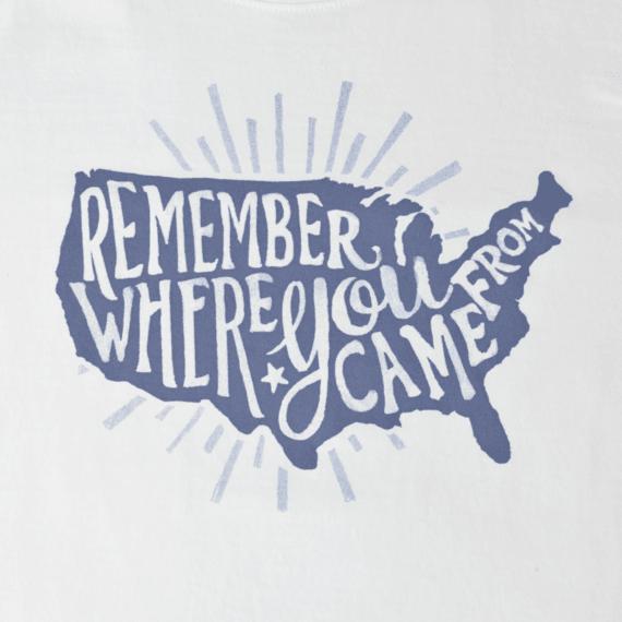 Women's Remember USA Crusher Tee