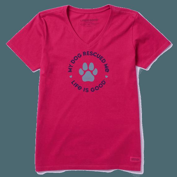 Women's Rescue Hearts Crusher Vee