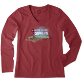 Women's Resilience Lighthouse Long Sleeve Crusher Vee