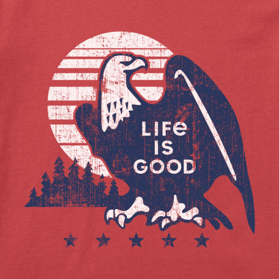 Women's Retro Eagle Crusher Tee