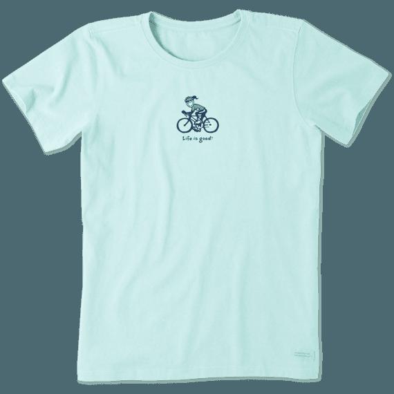 Women's Road Bike Jackie Vintage Crusher Tee