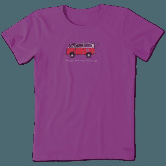 Women's Road Trip Love Crusher Tee