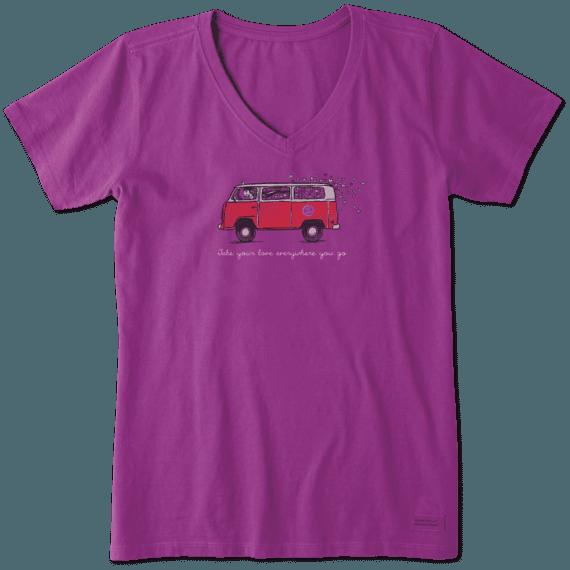 Women's Road Trip Love Crusher Vee