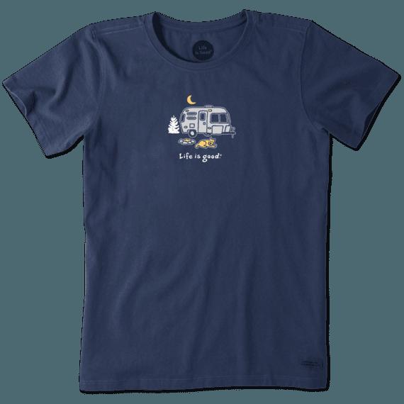 Women's Rocket Camper Vintage Crusher Tee