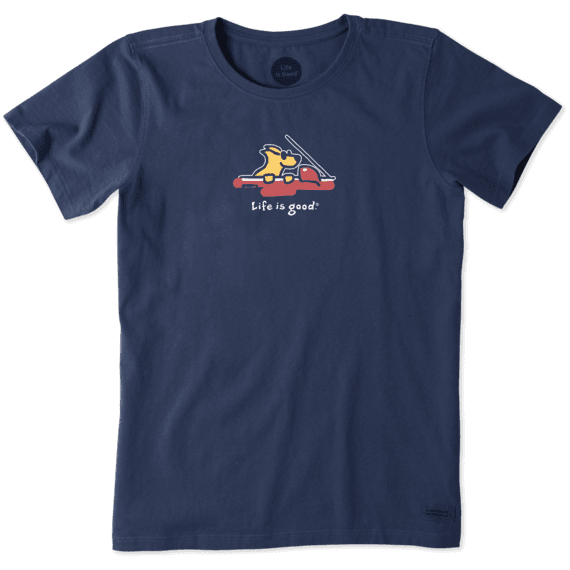Women's Rocket Cruisin' Vintage Crusher Tee