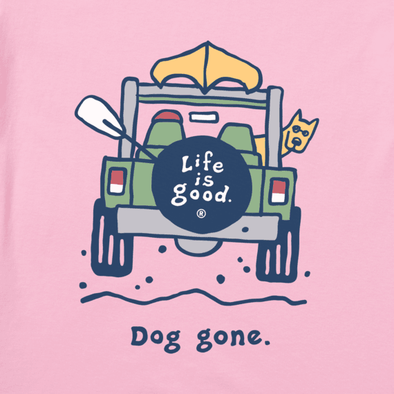 Women's Rocket Dog Gone Vintage Crusher Tee