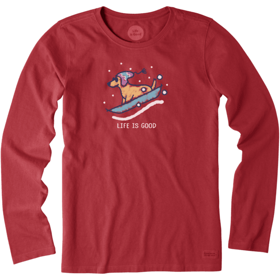 Women's Rocket Sled Crusher Long Sleeve Tee
