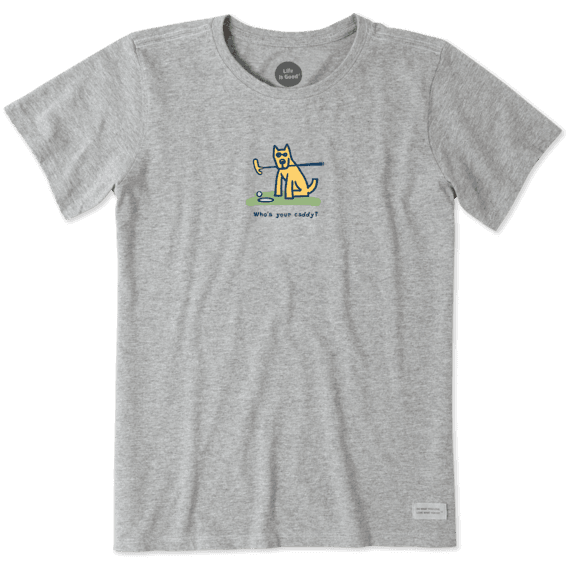 Women's Rocket Who's Your Caddy Vintage Crusher Tee
