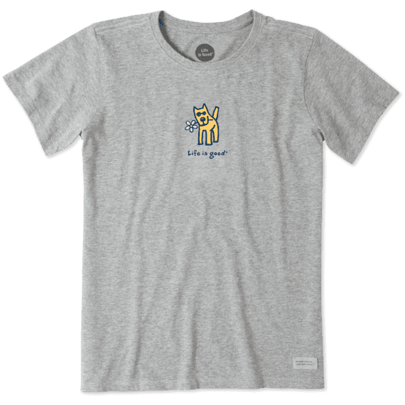 Women's Rocket With Daisy Vintage Crusher Tee