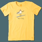 Women's Salty Seagull Crusher Tee