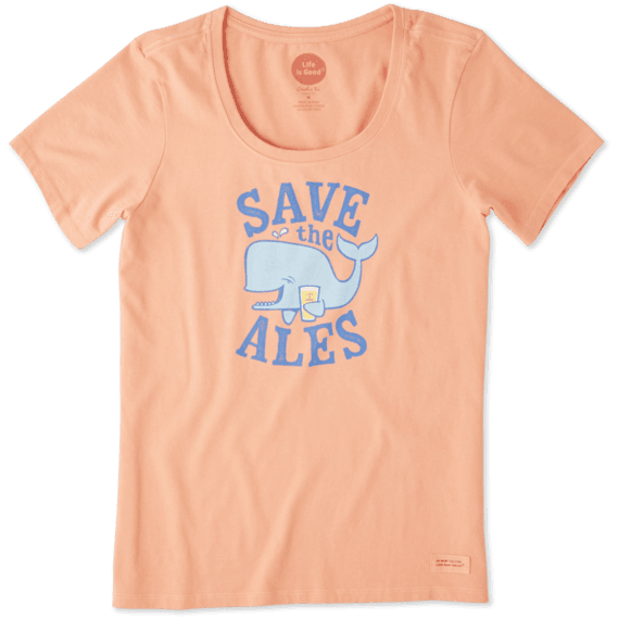 Women's Save The Ales Crusher Scoop Neck Tee