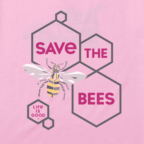 Women's Save The Bees Cool Vee